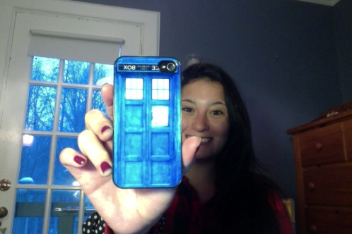 Like, my phone is a Tardis. Actually though.