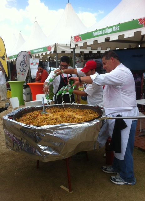 The ballingest paella ever?