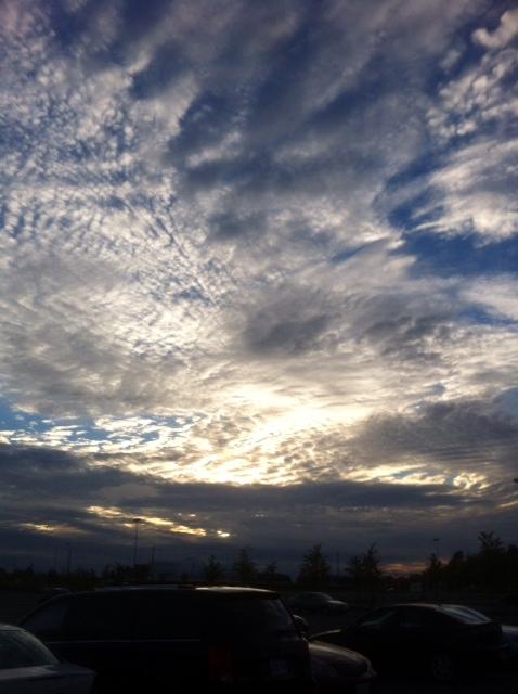 Beautiful sky??????